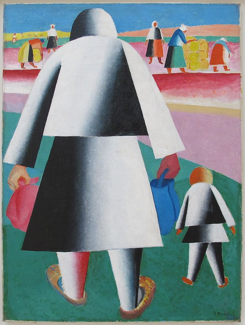 Early Suprematism Art