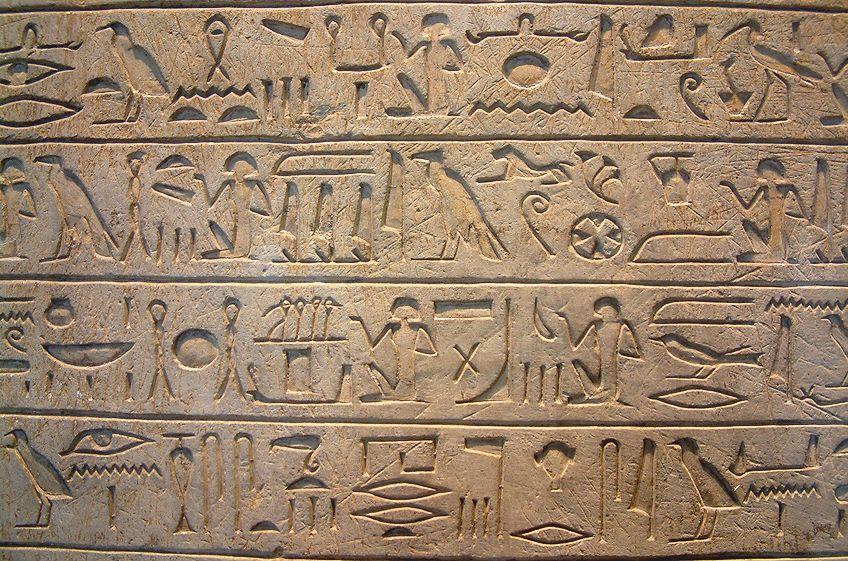 Egypt Art Hieroglyphs
