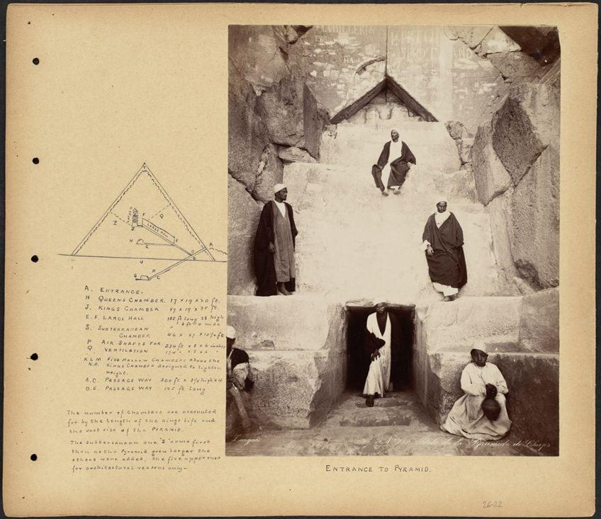 Egypt Art Pyramid Plan