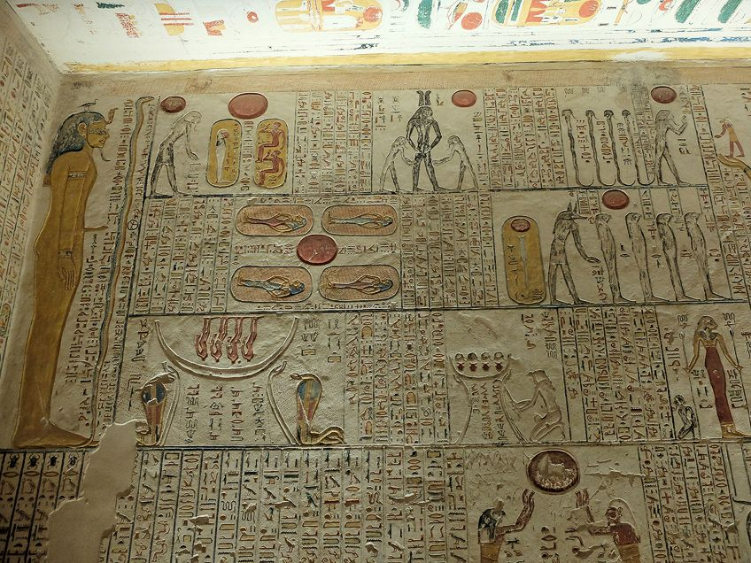 Egyptian Art in Tombs