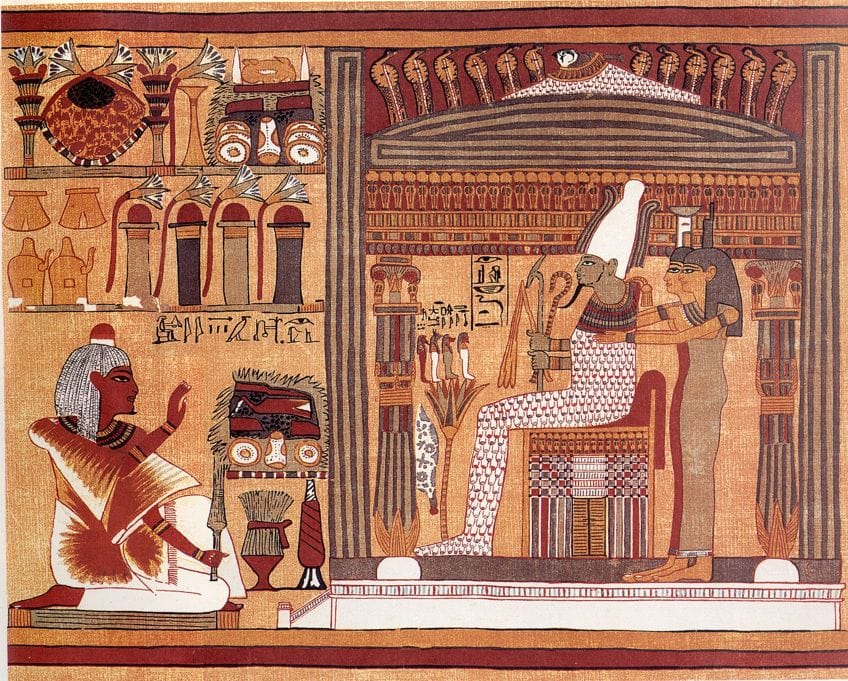 Famous Egyptian Painting