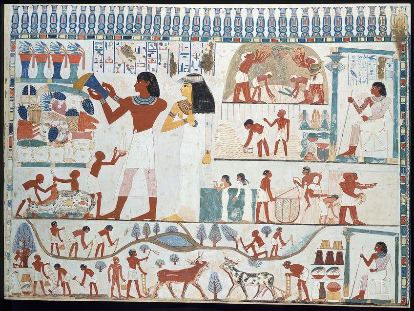 Funery Egypt Art