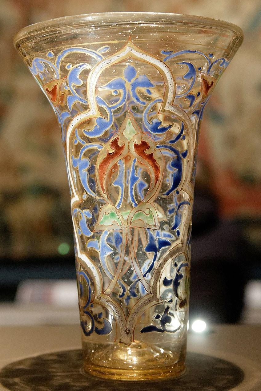 Glasswork by Muslim Artists