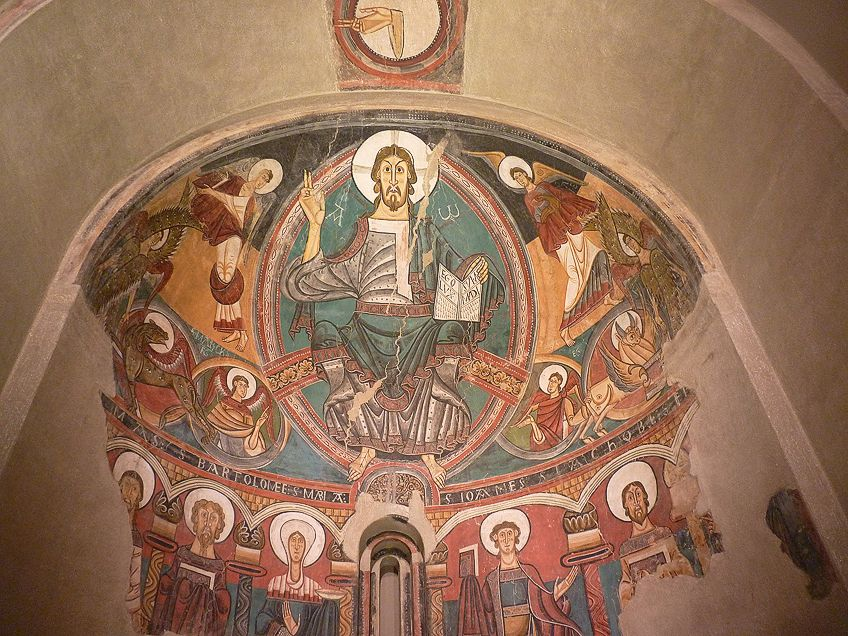 Romanesque Art Fresco