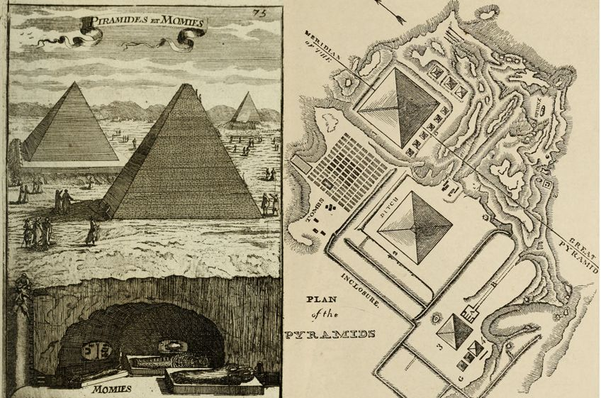 The Great Pyramids in Egypt Art