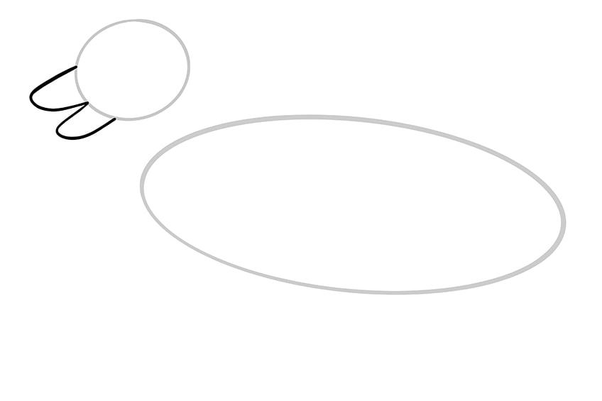 german shepperd drawing 3