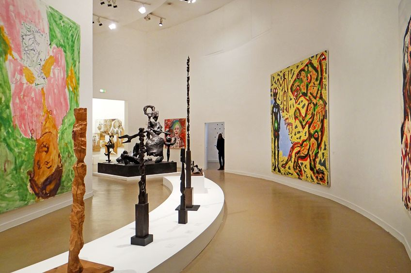 Neo-Expressionism Exhibit