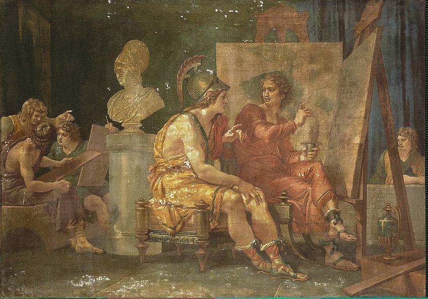 Behind the Scenes of Ancient Greek Arts