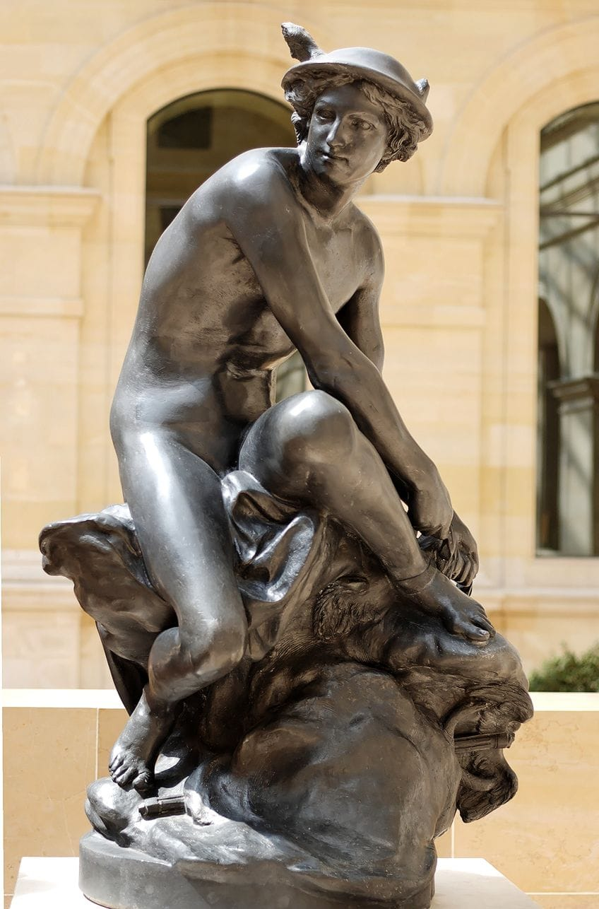 Bronze Neoclassical Statues