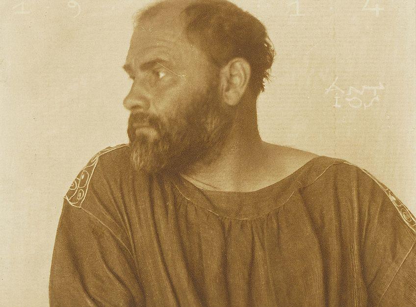 Gustav Klimt Portrait