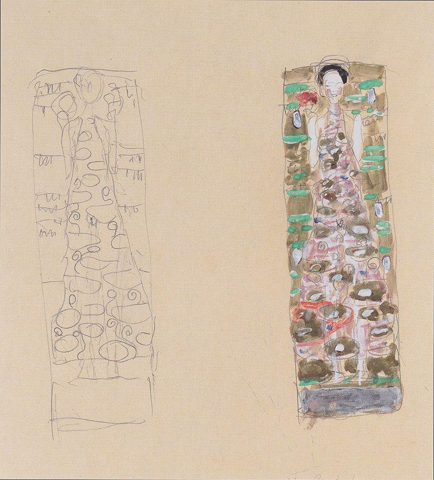Gustav Klimt Sketches