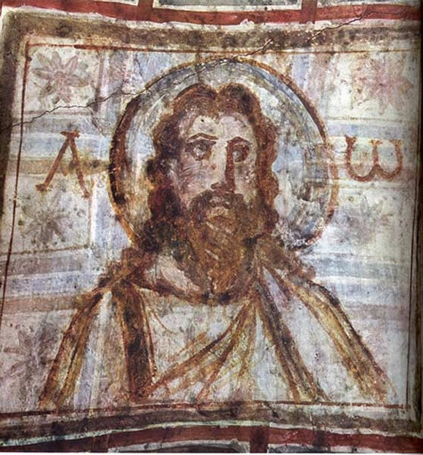 Oldest Painting of Jesus