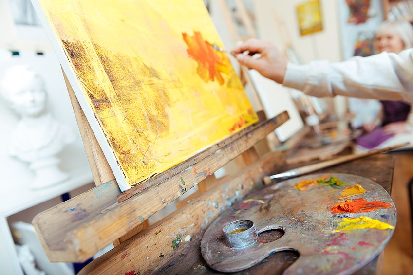 Painting With Warm Colors
