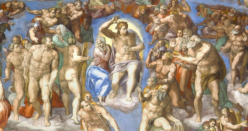 Painting of The Last Judgement
