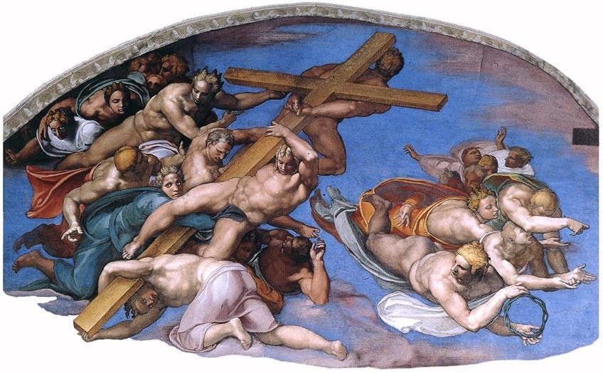 Section of The Last Judgement
