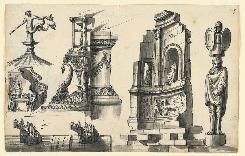Various Classical Architecture Elements