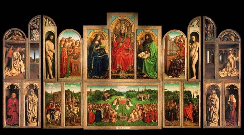 Famous Jan van Eyck Oil Painting