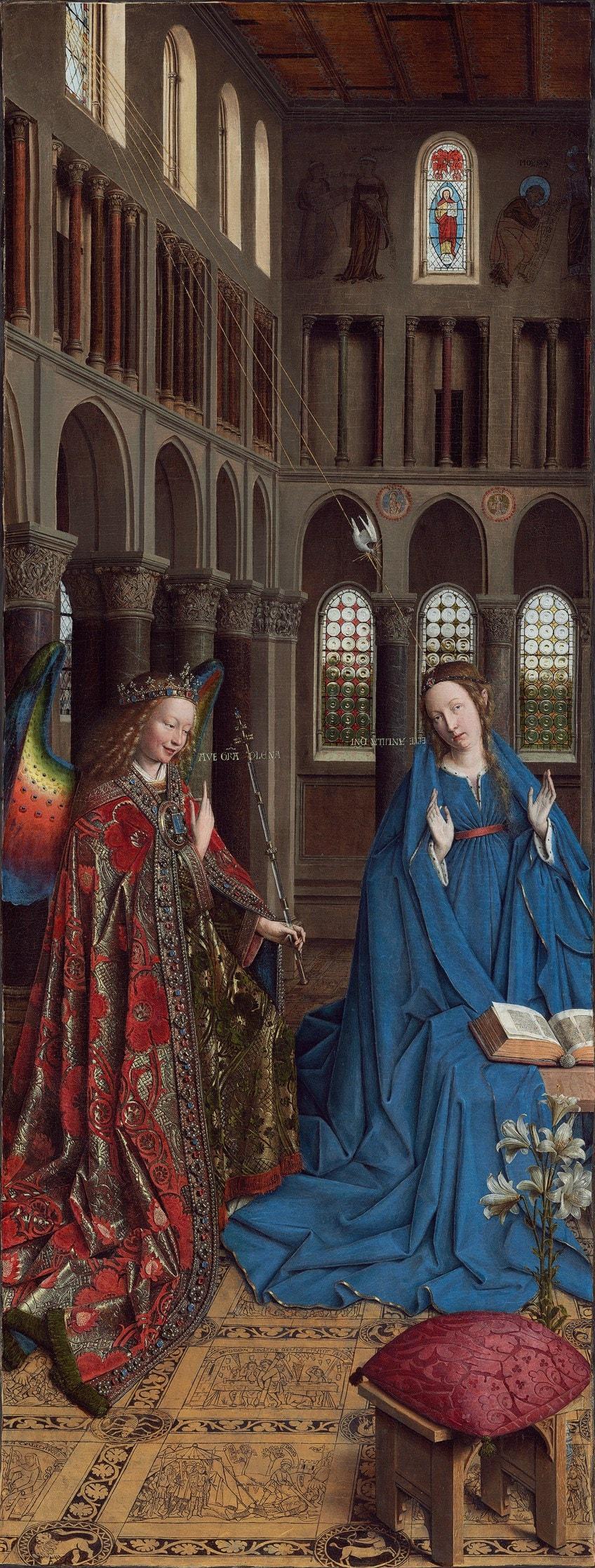 Famous Jan van Eyck Portrait Paintings