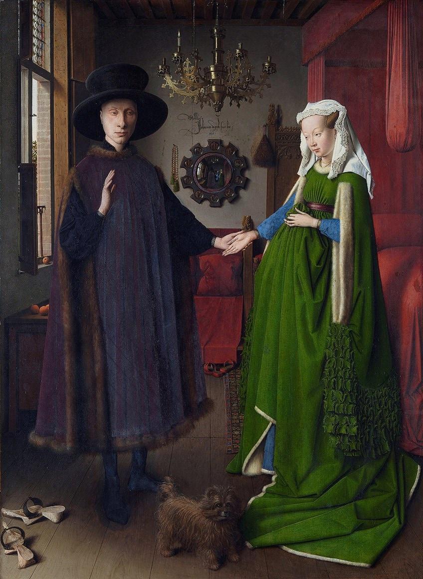 Jan van Eyck Arnolfini Portrait