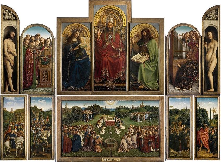 Jan van Eyck Oil Painting