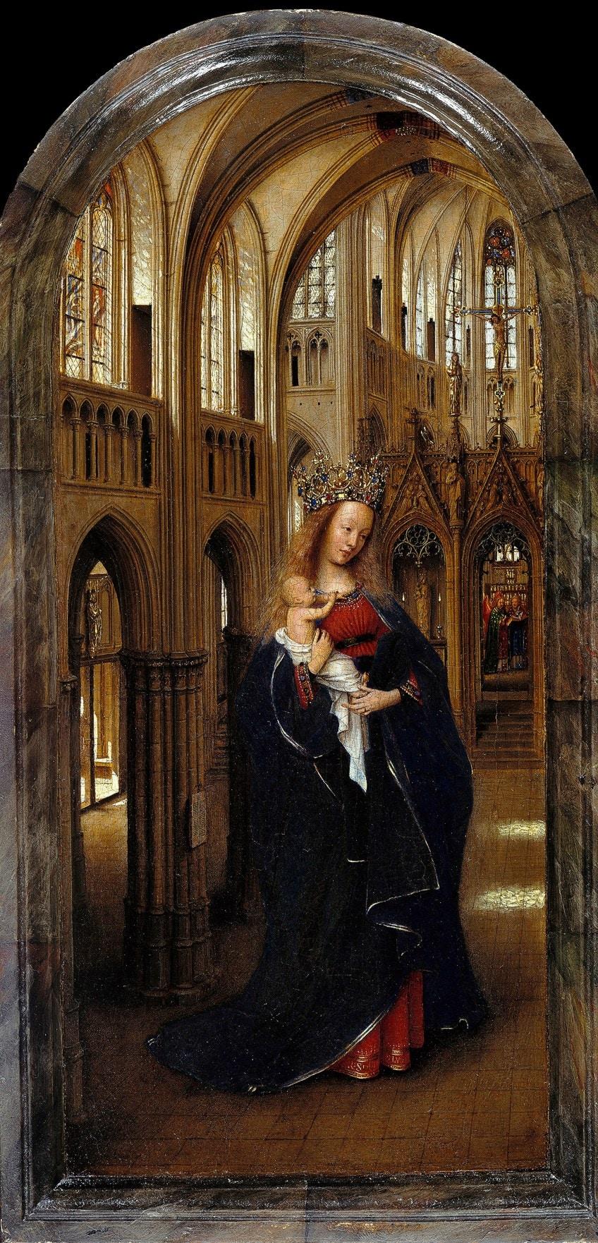 Jan van Eyck Portrait Paintings