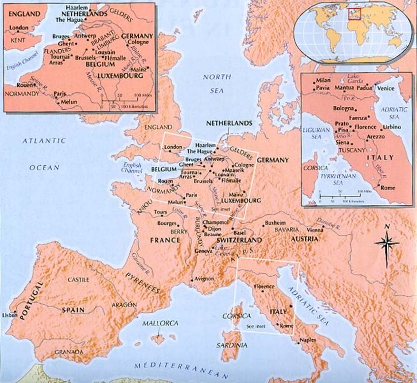 Renaissance History Map