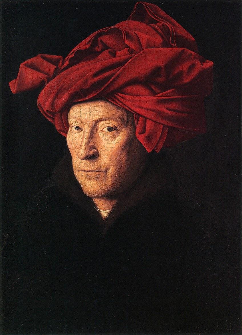 Van Eyck Self-Portrait