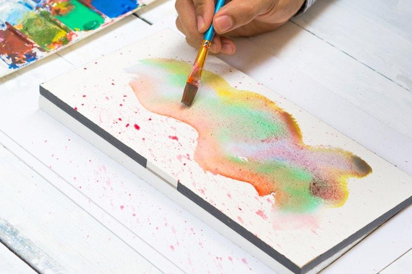 Watercolor Block